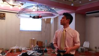 umbrella drone Asahi Power Service Free Parasol