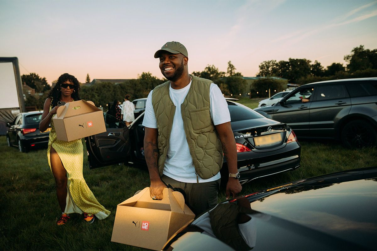 J2K Hosts atHOME Drive-in Movie Night With Support From PUMA 18