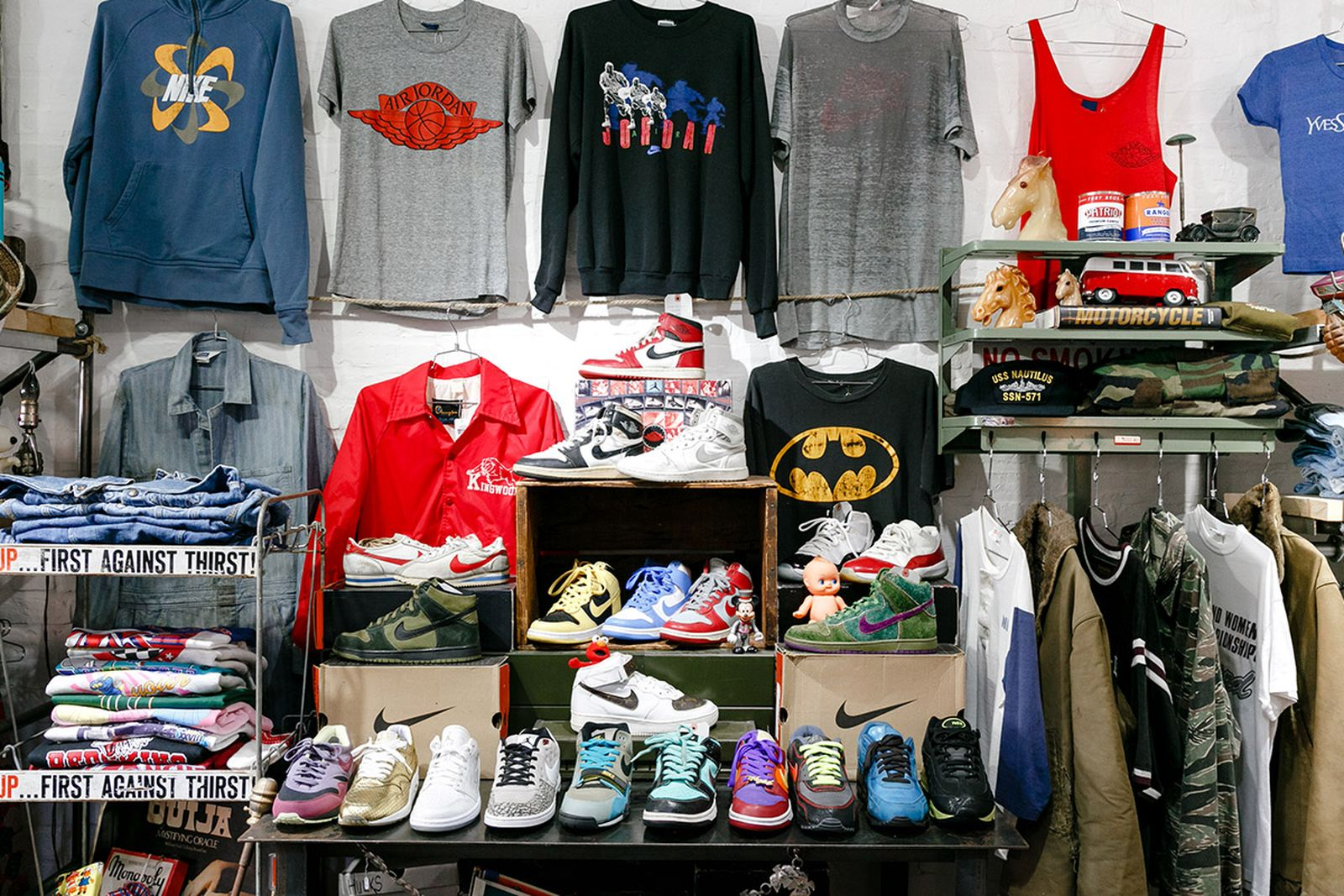Grand Street Local best vintage stores nyc AMEX american express platinum fashion