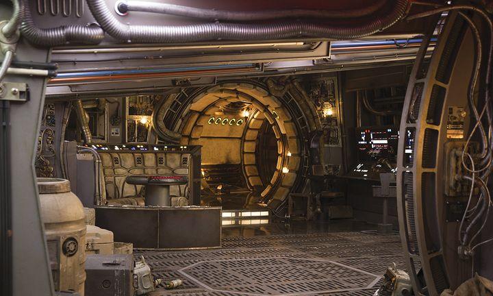 Millennium Falcon Star Wars background