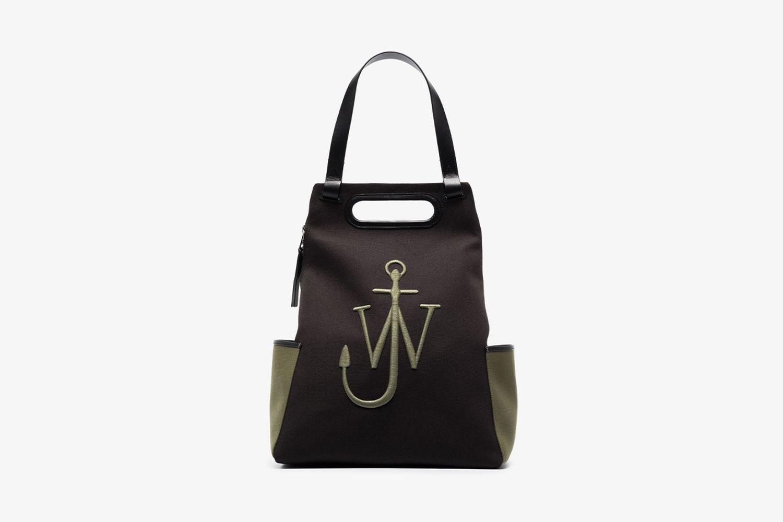 Embroidered-Logo Backpack