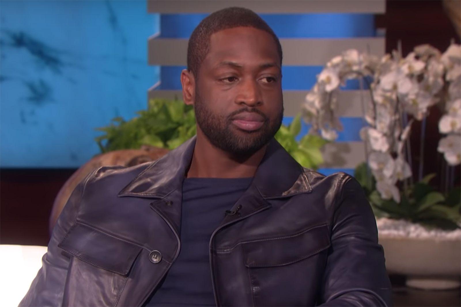 Dwyane Wade leather jacket