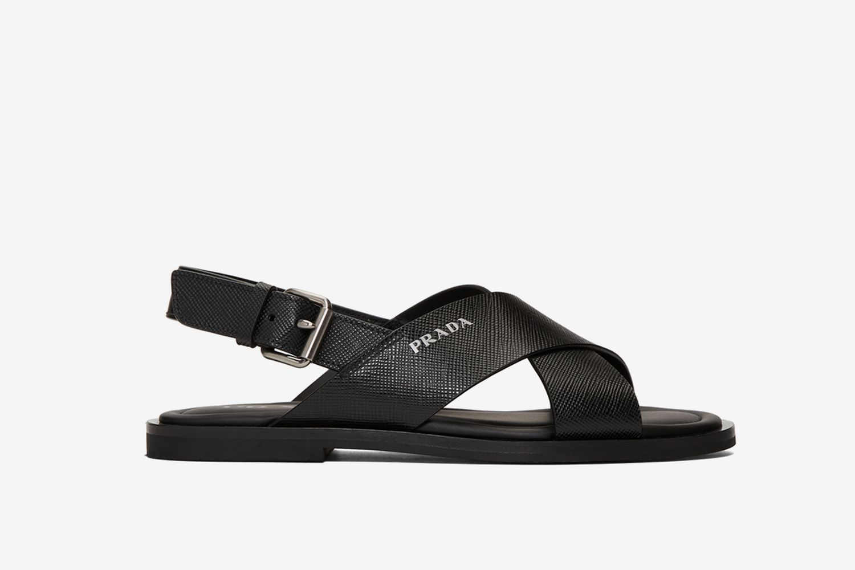 Saffiano Sandals