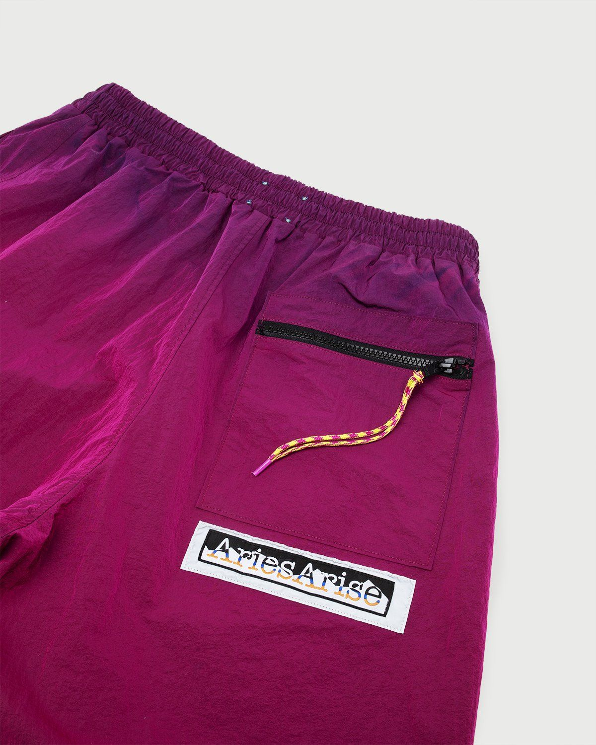 Aries — Ombre Dyed Track Pants Fuchsia - Image 3