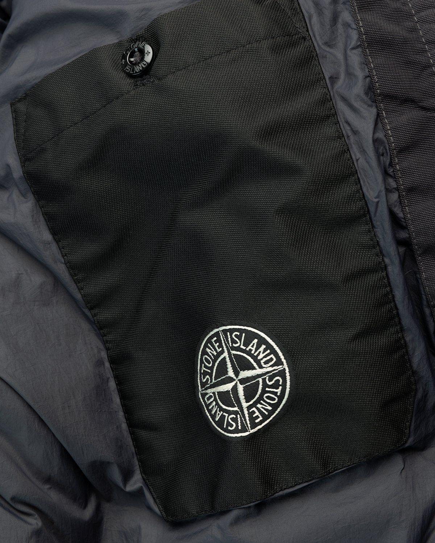 Stone Island – Real Down Jacket Charcoal - Image 6