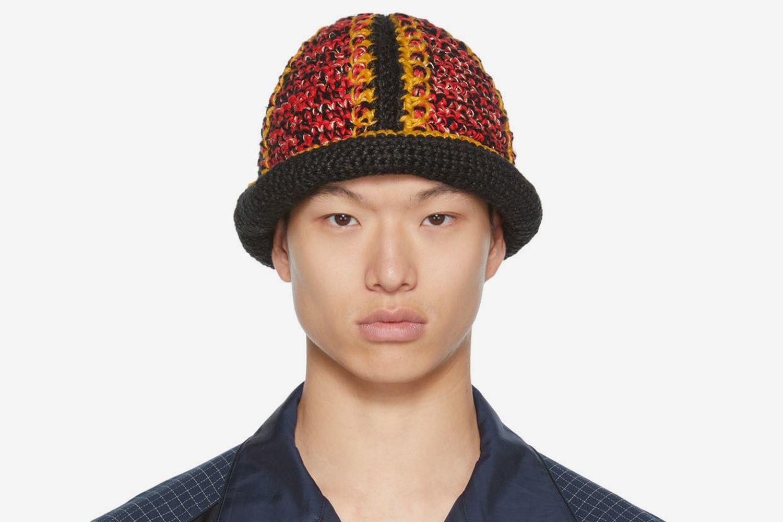 Hand-Crocheted Bucket Hat