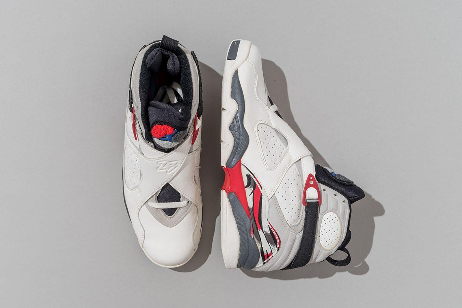 1993 Air Jordan 8 White/Black-True Red