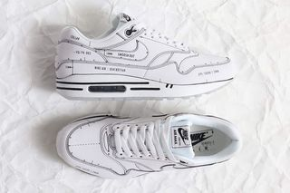 Nike Air Max 1 Tinker Black Schematic Sketch To Shelf CJ4286