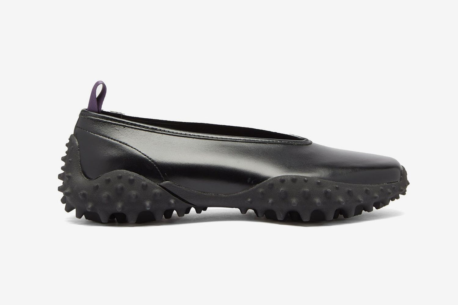 Rei Spiked-Sole Leather Sneakers