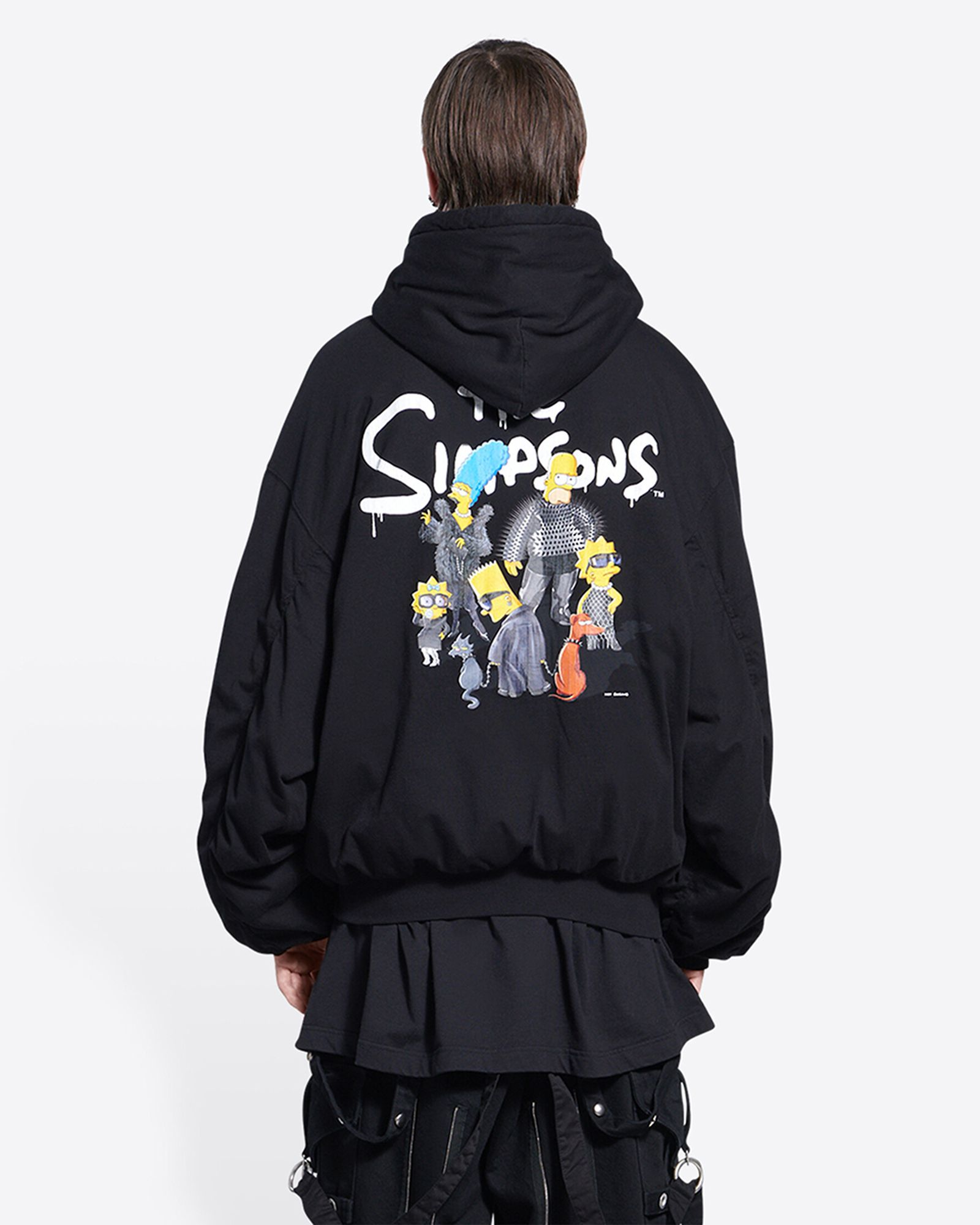 balenciaga simpsons collab clothing merch drop release date info buy price