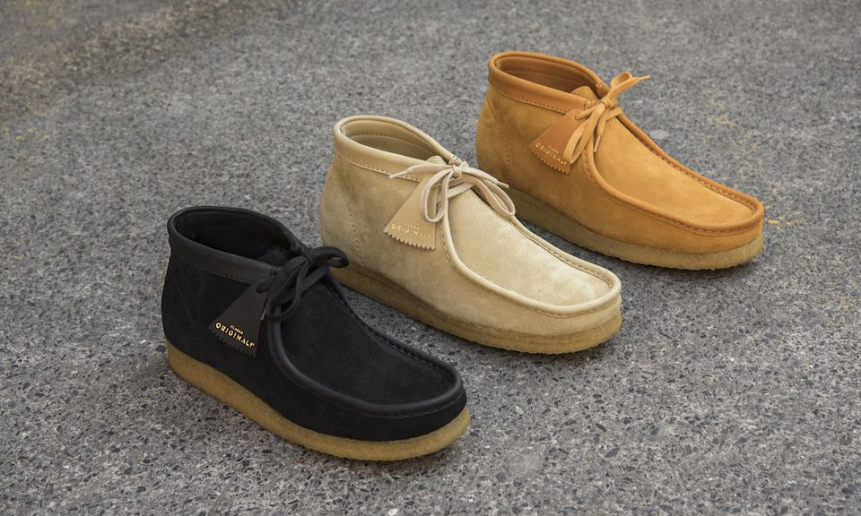 0a22d011 Clarks Originals Debuts Made in Italy Wallabee Pack