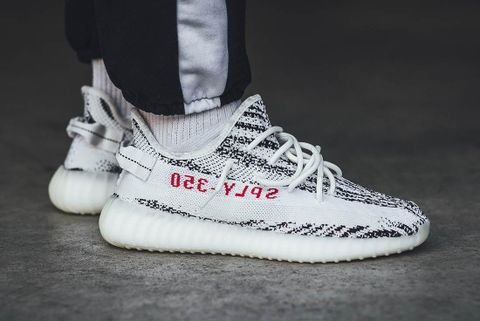 "86a08cc925074 Here s Why The ""Zebra"" 350 V2 Was the Most Popular YEEZY of 2017"