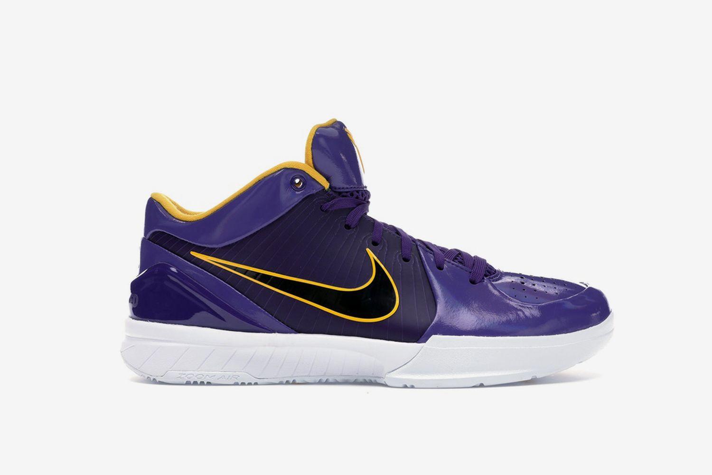 Kobe 4 Protro Undefeated Los Angeles Lakers