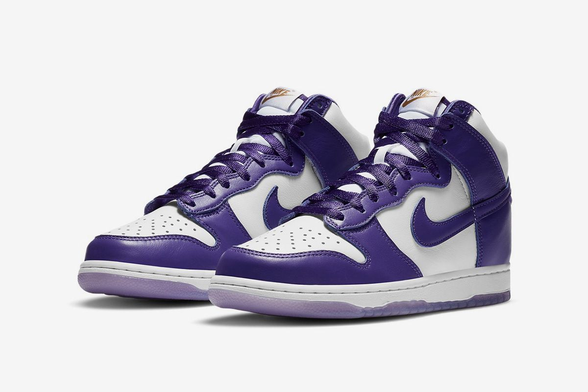 """Nike Dunk High """"Varsity Purple"""" Is Fit for a Queen 3"""