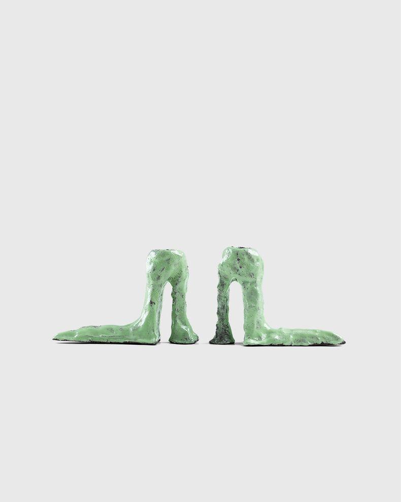 Laura Welker – Candle Holder Light Green