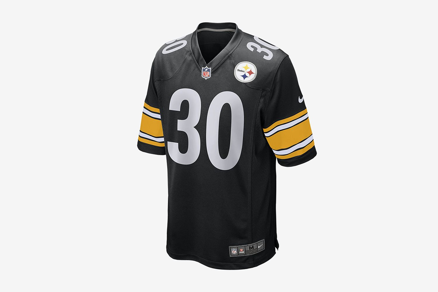 NFL Pittsburgh Steelers Game (James Conner) Men's Football Jersey