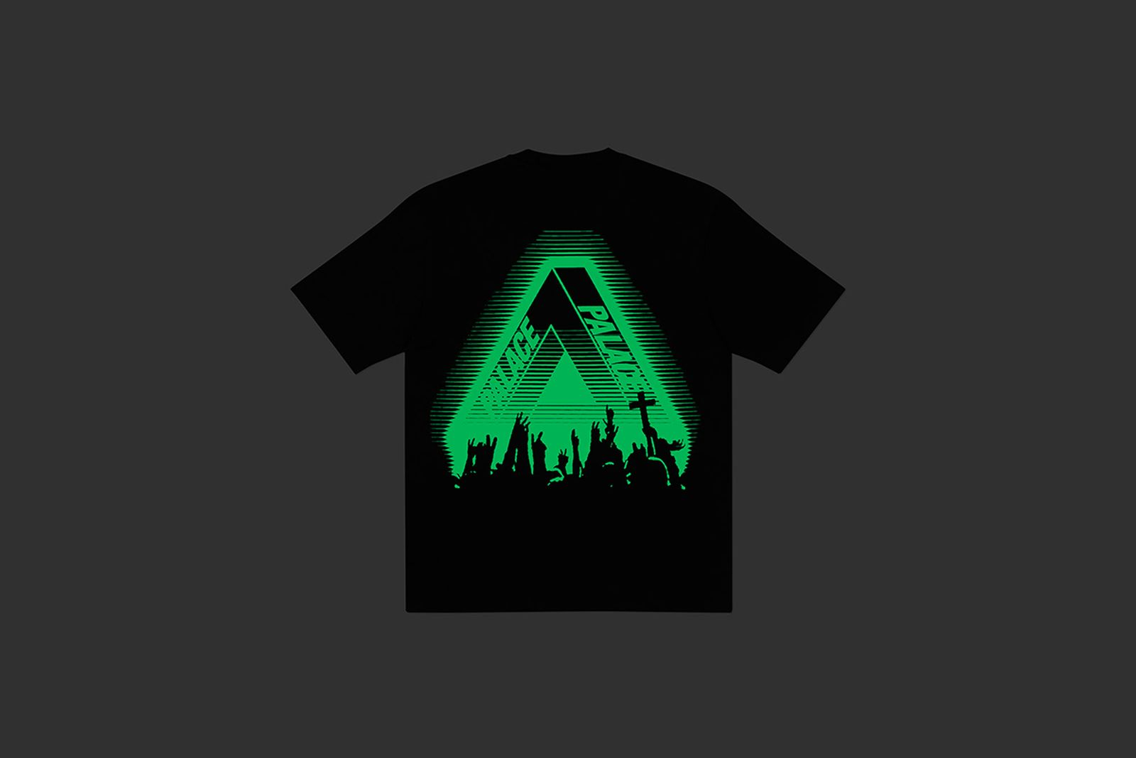 Palace Tri-Ferg T-Shirt Glow in the Dark