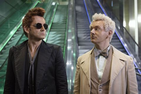 Amazon & Netflix Troll Each Other Over Cancelling 'Good Omens' & 'Stranger Things'