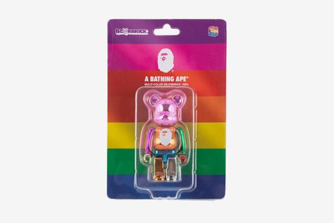 A Bathing Ape Bearbrick 100%