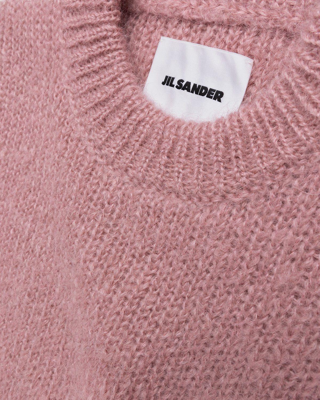 Jil Sander – Knitted Sweater Pink - Image 3