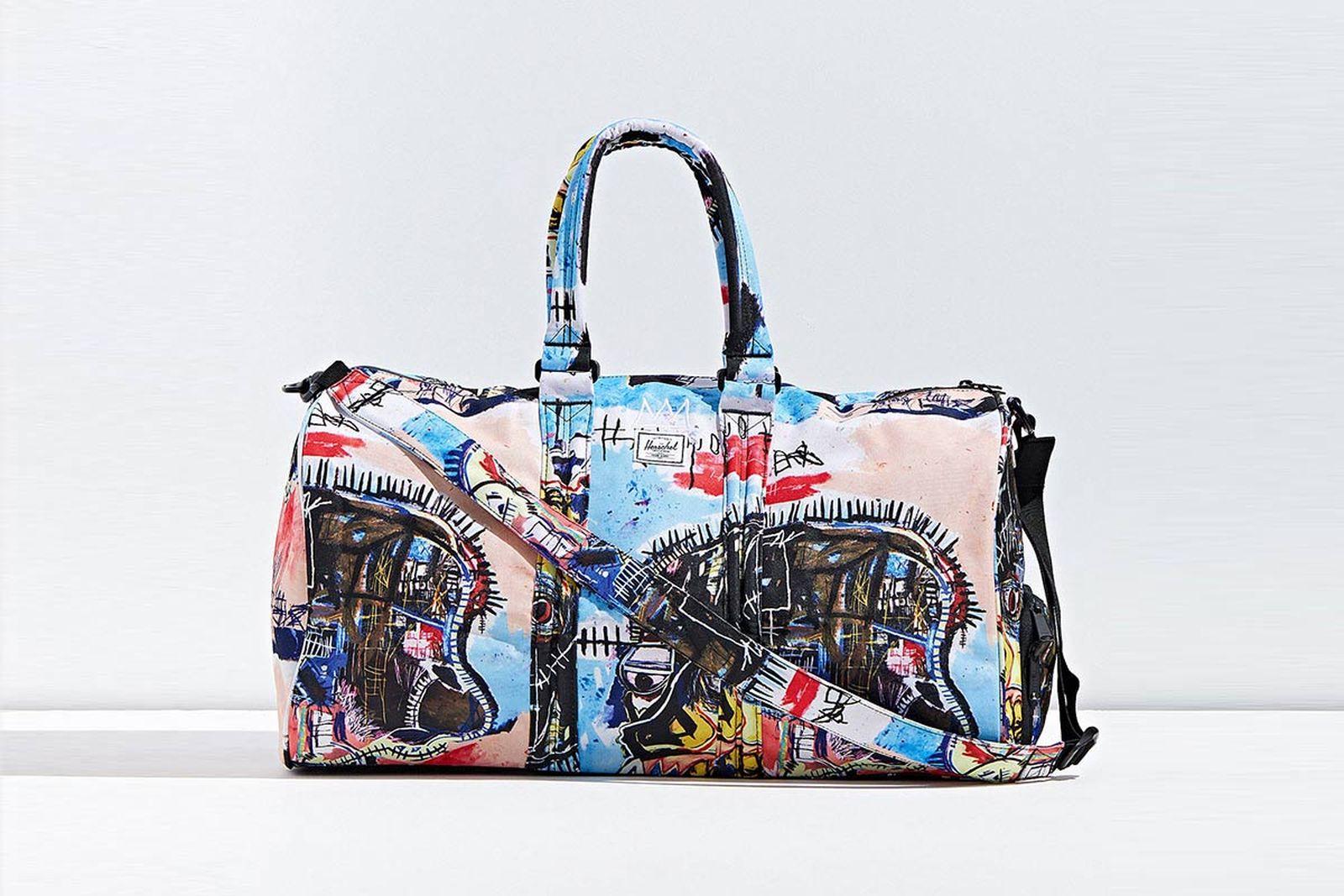 basquiat herschel main Jean-Michel Basquiat Estate herschel supply