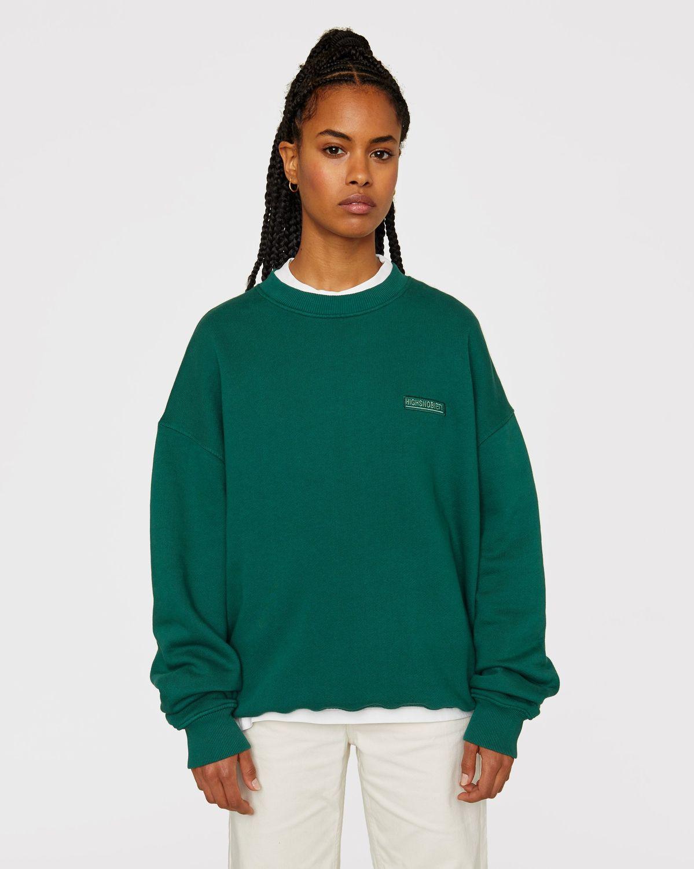 Highsnobiety Staples — Sweatshirt Green - Image 6
