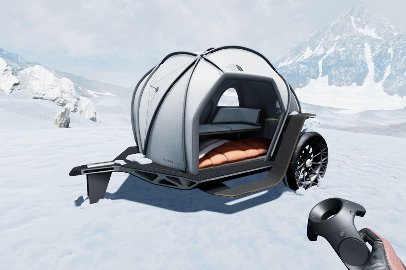 bmw designworks north face camper The North Face
