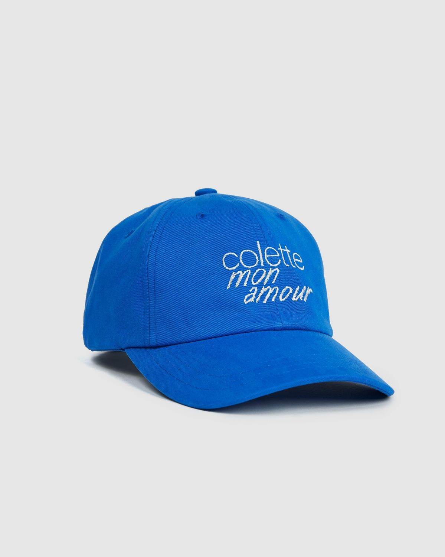 Colette Mon Amour - Logo Baseball Cap Blue - Image 1