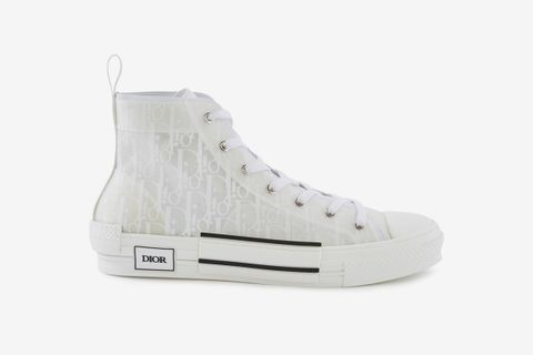 B23 Oblique High-Top Sneakers