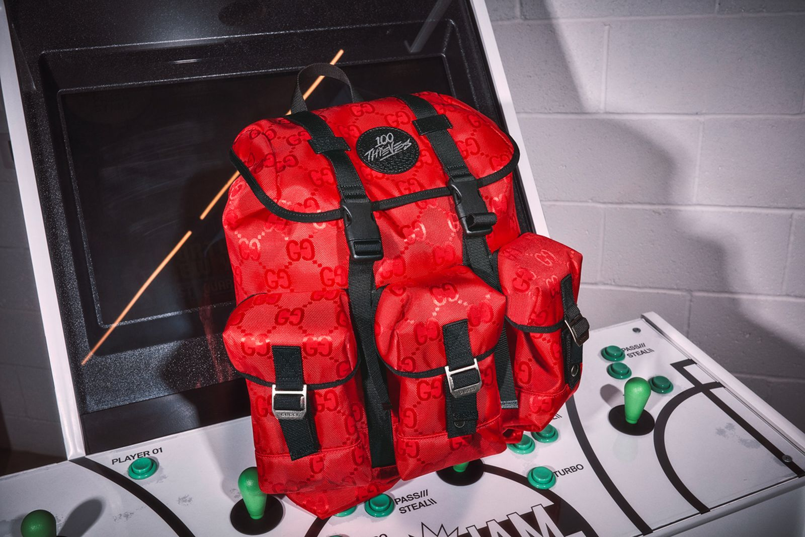 100 thieves gucci backpack collaboration release date info buy price