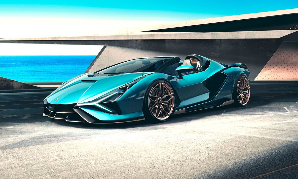 Lamborghini Sián Roadster Debuts as Brand's Most Powerful Convertible
