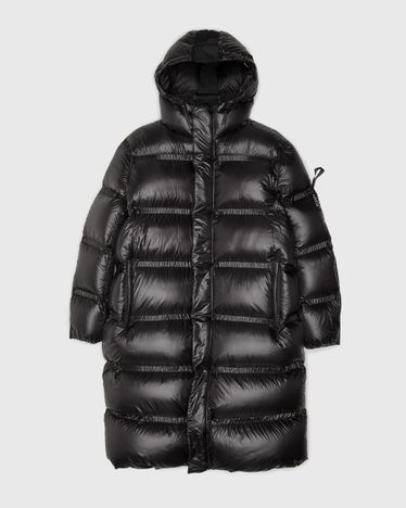 5 Moncler Craig Green - Sullivor Long Coat Black