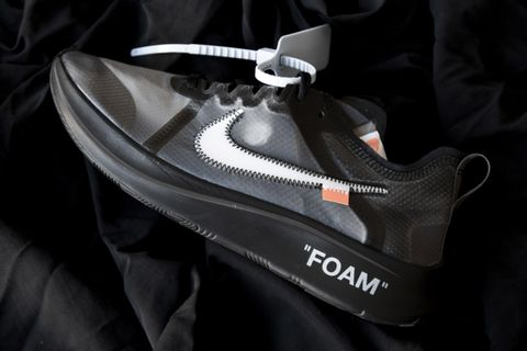 "quality design 1ecac 0abab OFF-WHITE x Nike Zoom Fly ""Black"""