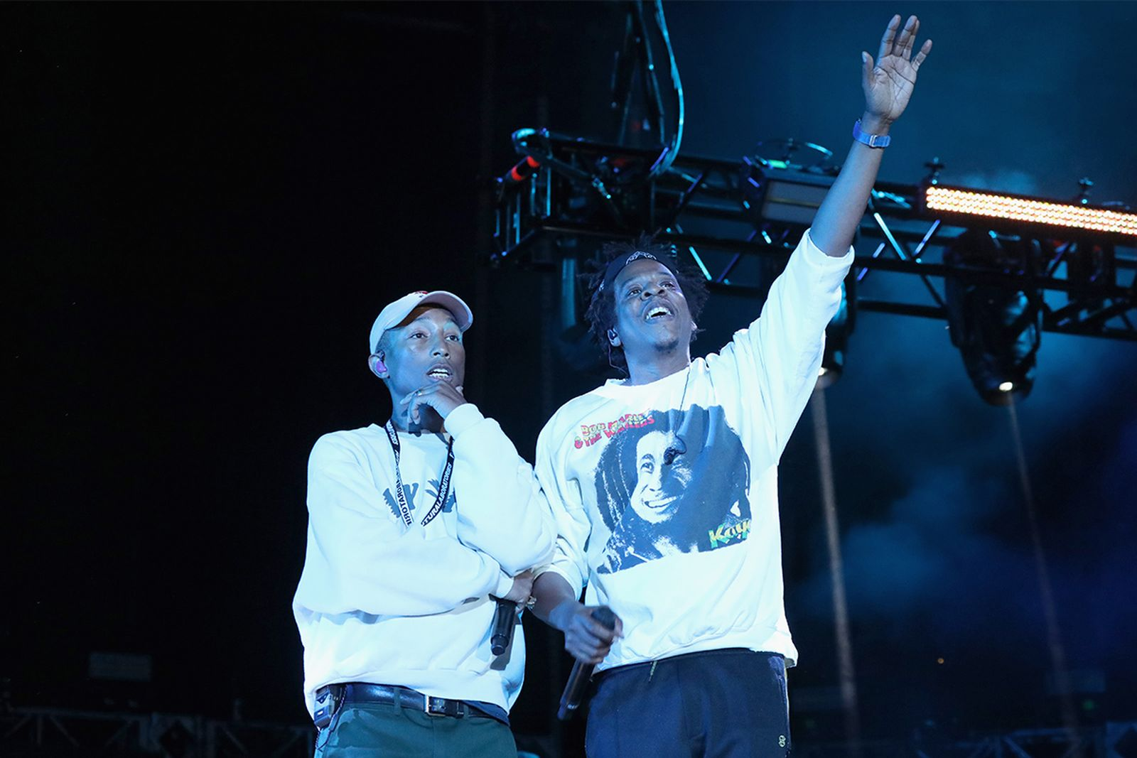 pharrell jay z sitw Something in the Water Festival Travis Scott diddy