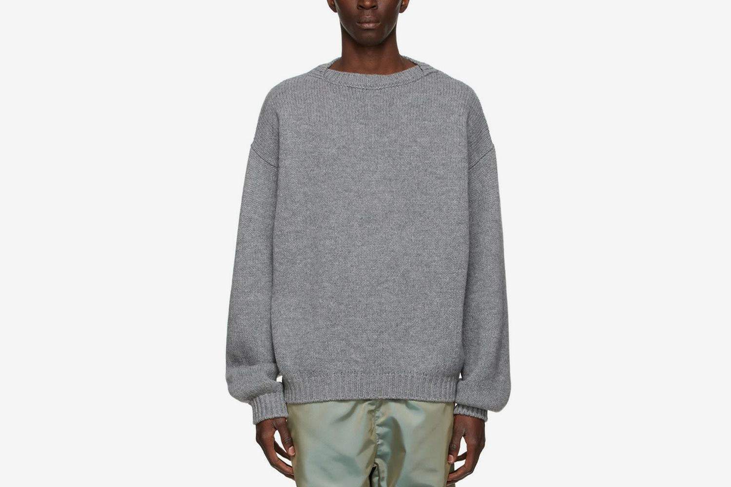 Overlapped Sweater