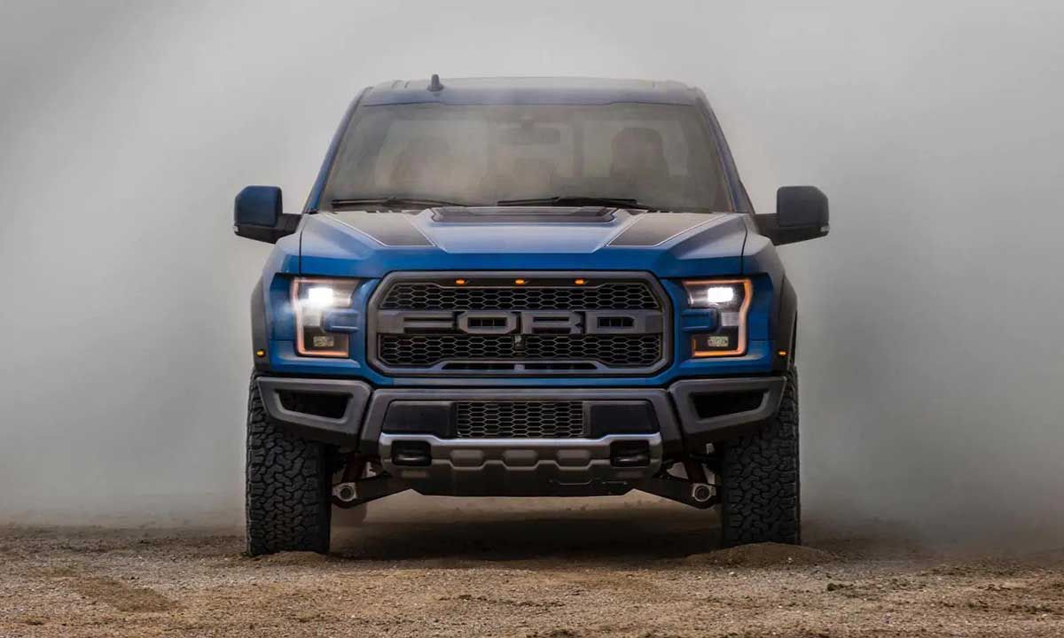 Kanye Uses Ford F 150 Raptor Trucks To Get Around Wyoming Ranch