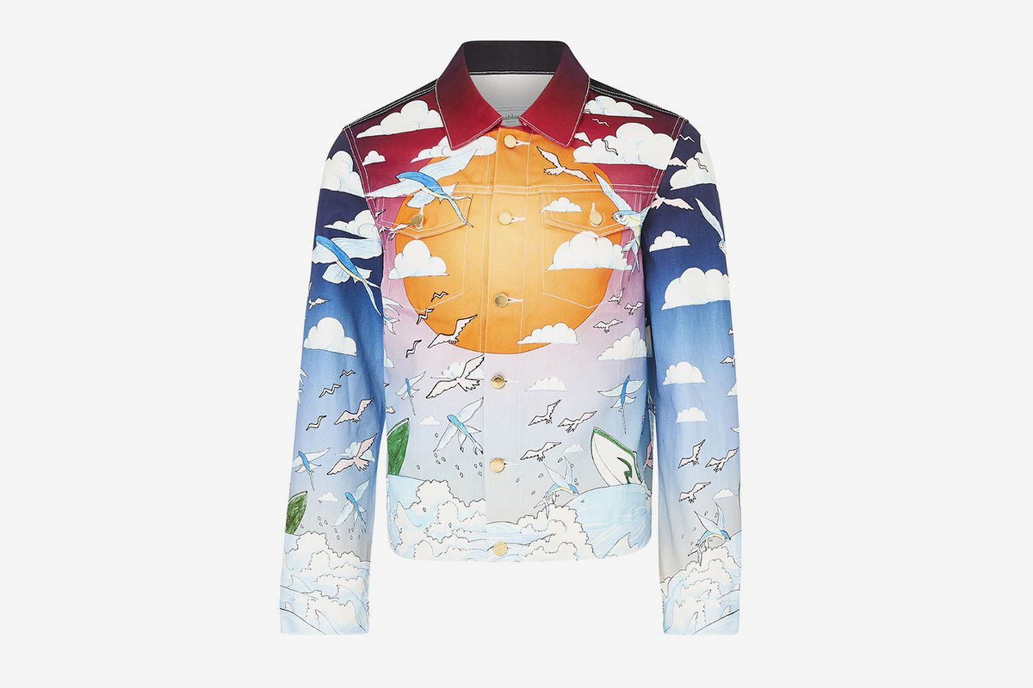 Speed Boat Club Printed Jacket