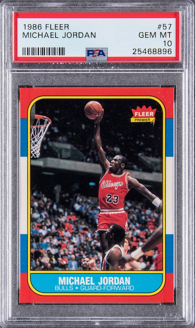 Michael Jordan Rookie Cards Are More Expensive Than His Game-Worn Sneakers
