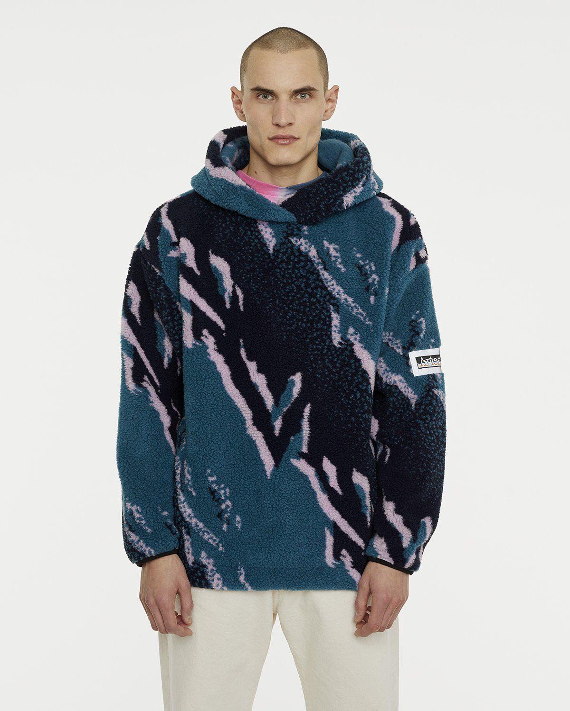 Aries - Oversized Fleece Hoodie Multicolor - Image 2