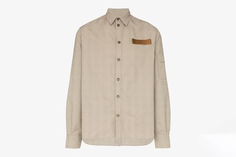 Contrast Patch Shirt