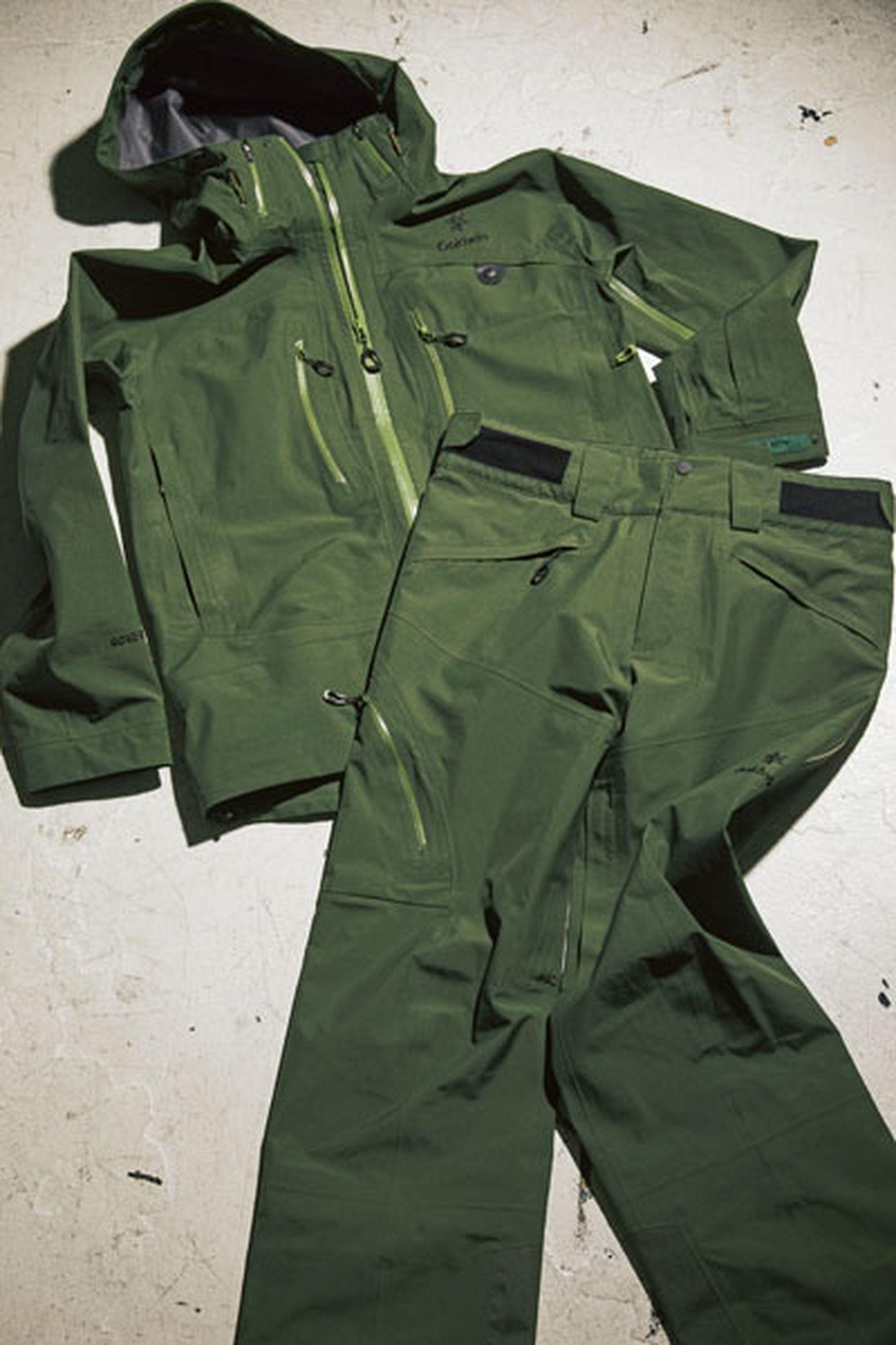 goldwin new tokyo store outerwear