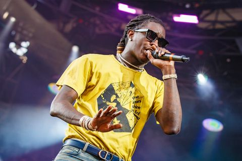 young thug scores first billboard no 1 album much fun so much fun