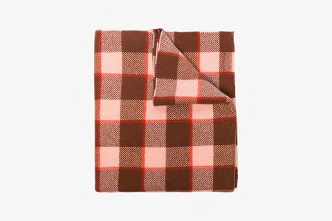 Cassiar Check Wool Scarf