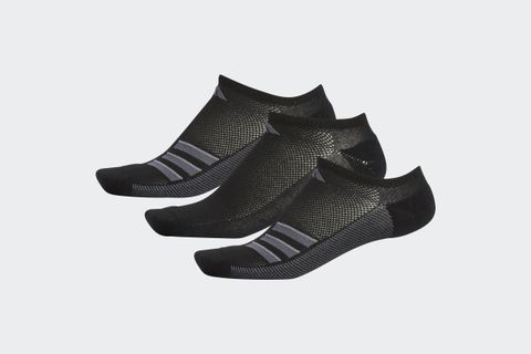 Climacool Superlite 3-Stripes No-Show Socks