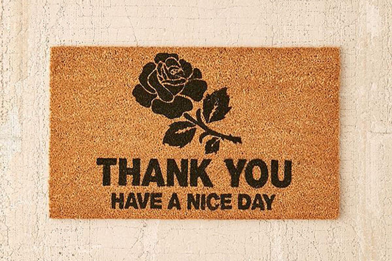 Thank You Door Mat