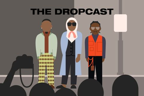 dropcast main Nike brain dead podcast