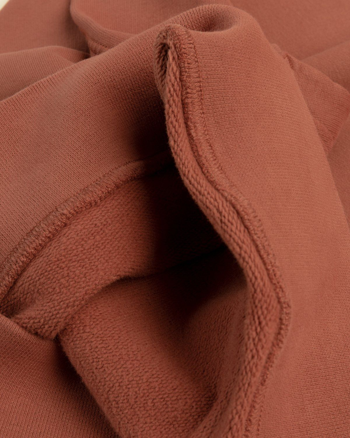 Stone Island – Dust Color Treatment Hoodie Brick Red - Image 5