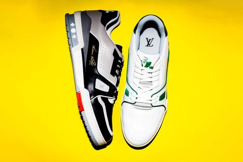 luxury sneaker value louis vuitton lead designer sneakers virgil abloh