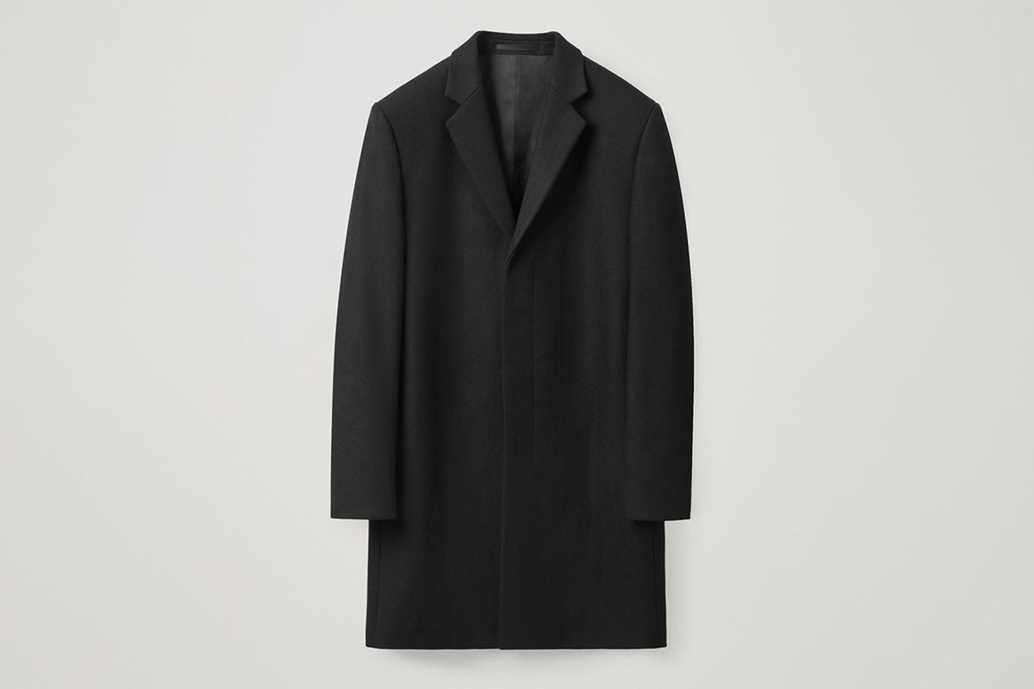 Tailored Wool-Cashmere Coat