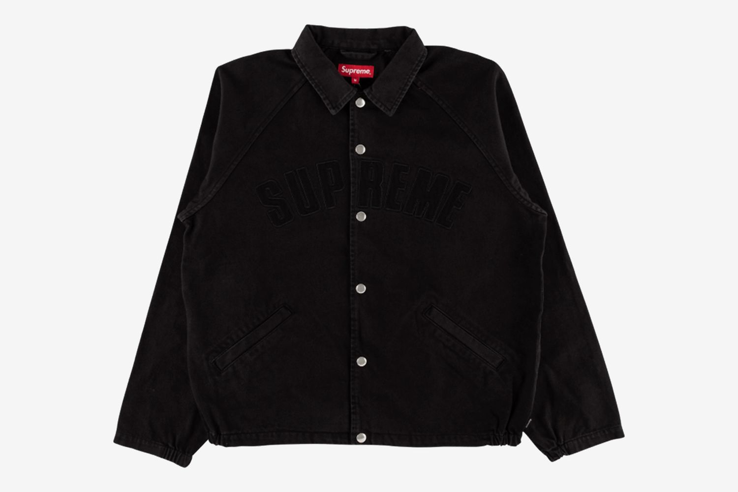 Snap Front Twill Jacket